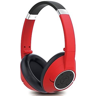 Genius - Casque d'écoute sans fil Bluetooth HS-930BT, rouge