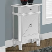 Monarch Specialties Inc. 1 Drawer Accent Cabinet