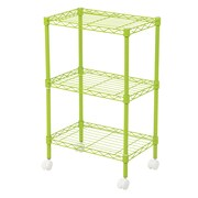 Wildon Home   DuVig 28'' H Three Shelf Shelving Unit; Green