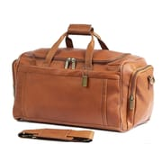 Claire Chase 20'' Carry-On Duffel; Saddle