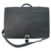 Piel Executive Briefcase; Black