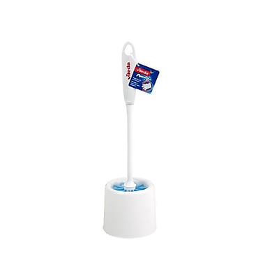Vileda Powerfibres Toilet Brush with Caddy
