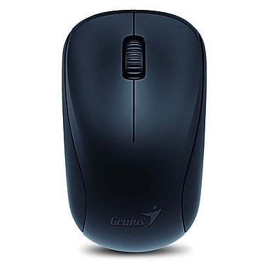 Genius NX-7000 Optical Wireless Mouse, Calm Black, English