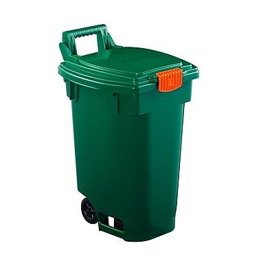 green-recycle-bin