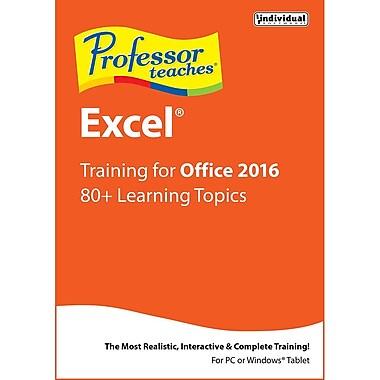Professor Teaches Excel 2016 [Download]
