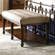 Legacy Classic Furniture Barrington Farm Upholstered Storage Bedroom Bench