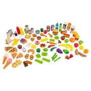 KidKraft Tasty Treats 105 Piece Food Play Set
