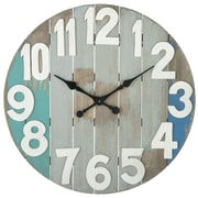 CBK Oversized 28.88'' Slatted Wall Clock