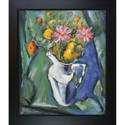 Tori Home Floral Still Life by Alfred Henry Maurer Framed Painting Print