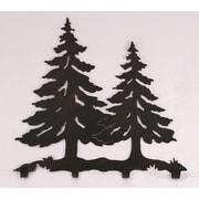Coast Lamp Mfg. Pine Tree Coat Rack