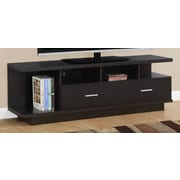Monarch Specialties Inc. TV Stand; Cappuccino