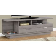 Monarch Specialties Inc. TV Stand; Dark Taupe