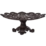 Home Essentials and Beyond Cast Iron Footed Cake Stand
