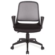 Leick High-Back Mesh Office Chair with Arms