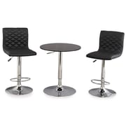 Leick 3 Piece Counter Height Pub Table Set