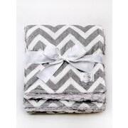 Baby Laundry Minky Throw Blanket; 60'' H x 55'' W