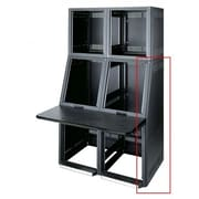 Middle Atlantic Convective Series  Top Monitor Rack Side Panels, 17 Degree Slope; Black