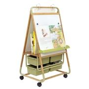 Copernicus Double Sided Magnetic Casters Board Easel
