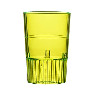 Fineline Settings, Inc Quenchers Disposable Plastic 1.5 oz. Neon Shooter (500/Case); Yellow