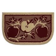 Structures Textured Loop Apple Orchard Wedge Slice Kitchen Area Rug
