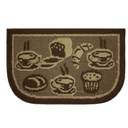 Structures Textured Loop French Bread Wedge Slice Kitchen Area Rug