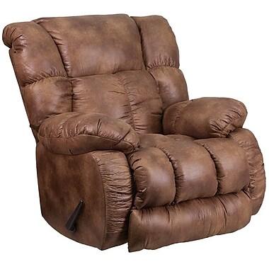 Flash Furniture Contemporary, Breathable Comfort Padre Almond Fabric Rocker Recliner (WA8230691)