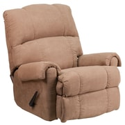 Flash Furniture Contemporary Victory Lane Taupe Fabric Rocker/Recliner (WM8700394)
