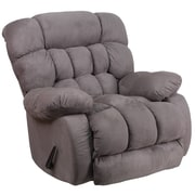 Flash Furniture Contemporary Softsuede Graphite Microfiber Rocker/Recliner (WM9200531)