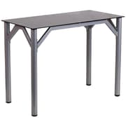 Flash Furniture (NANYLCD1215) Contemporary Desk with Black Tempered Glass Top