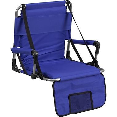 Flash Furniture – Siège pliant pour gradins, bleu (TY2710BL)