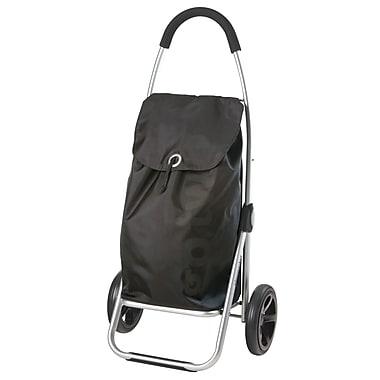 Chariot de magasinage Go Two, gris