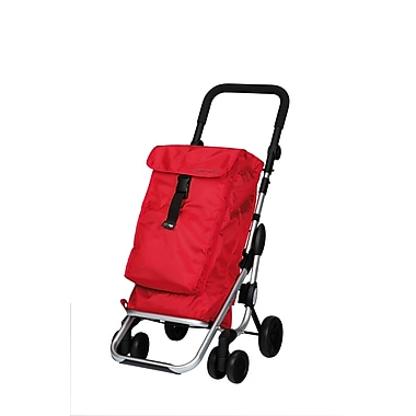 Chariot de magasinage Go Up, rouge