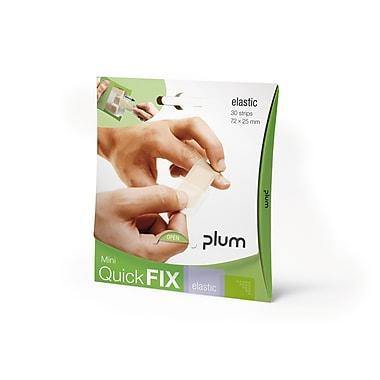 Plum – Mini-paquet de pansements à solution rapide en tissu, 30 par paquet