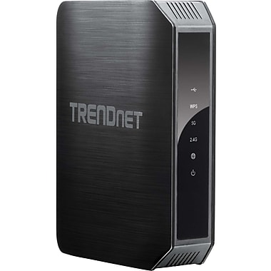 TRENDnet TEW-813DRU AC1200 Dual Band High-power Gigabit Wireless AC Router