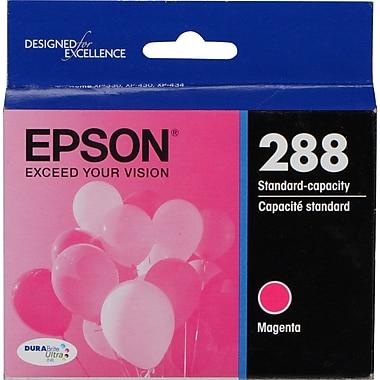 Epson 288 DURABrite Ultra (T288320-S), Magenta Ink Cartridge, Standard Capacity