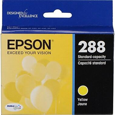 Epson 288 DURABrite Ultra (T288420-S), Yellow Ink Cartridge, Standard Capacity