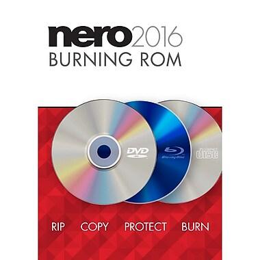 Nero – Logiciel multimédia Burning ROM 2016 pour Windows (1 utilisateur) [téléchargement]