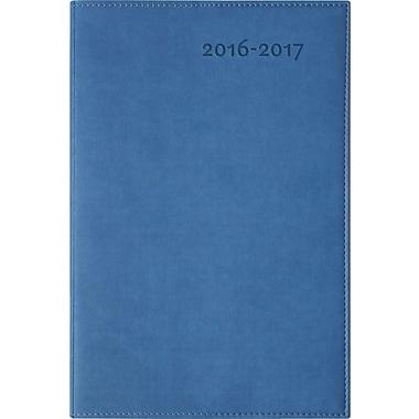 W. Maxwell – Agenda hebdomadaire scolaire Gamae 2016/2017, 6 1/4 x 9 1/2 po, bleu, bilingue
