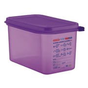 Araven 4.54 Quart Anti Allergen Food Container with Lid (Set of 6)