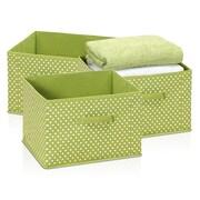 Furinno Laci Soft Storage Organizer (Set of 3); Green