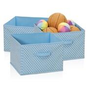 Furinno Laci Soft Storage Organizer (Set of 3); Blue