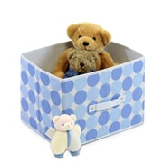 Furinno Laci Dot Soft Storage Organizer (Set of 3); Baby Blue