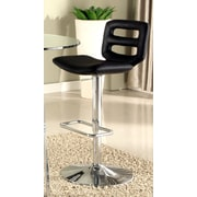 Chintaly Pneumatic Gas Adjustable Height Swivel Bar Stool with Cushion