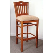 Benkel Seating Beverly 30'' Bar Stool with Cushion