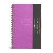 Purple- Medium Felt Notebook (Ruled)  2 Pack