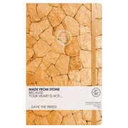 Apricot Stone Paper Notebook (Ruled)