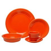 Fiesta 5 Piece Place Setting; Poppy