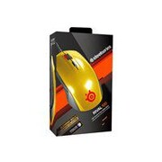 SteelSeries RIVAL 100 Wired Optical Gaming Mouse, Alchemy Gold
