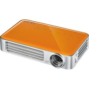 Vivitek® Qumi Q6 WXGA 3D Ready LED Pocket DLP Projector, Orange