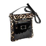 Parinda Emet Leopard Quilted Faux Leather Crossbody (11197)